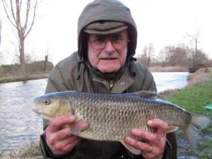 Rod Sturdy with a fine chub